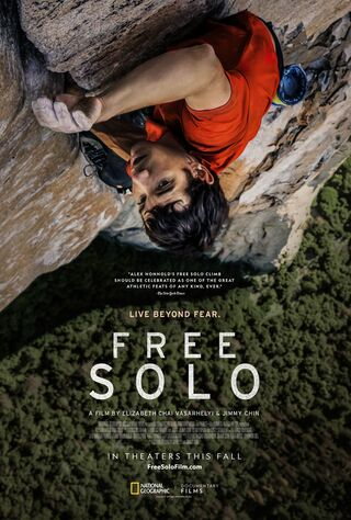 Free Solo (2018) Main Poster
