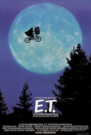 E.T. the Extra-Terrestrial (1982) Main Poster