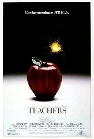 Teachers (1984) Main Poster