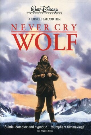 Never Cry Wolf (1984) Main Poster