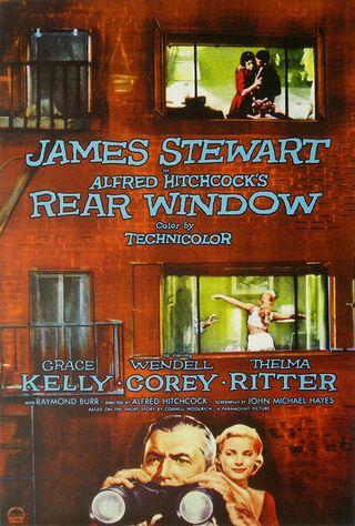 Rear Window (1954) Main Poster