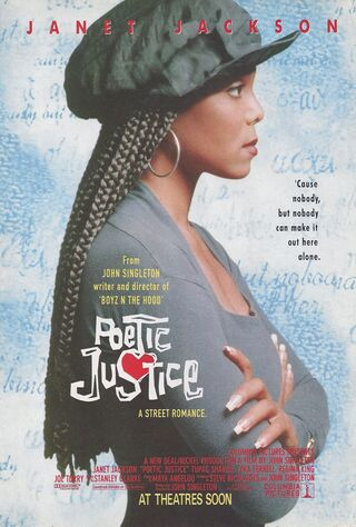 Poetic Justice (1993) Main Poster