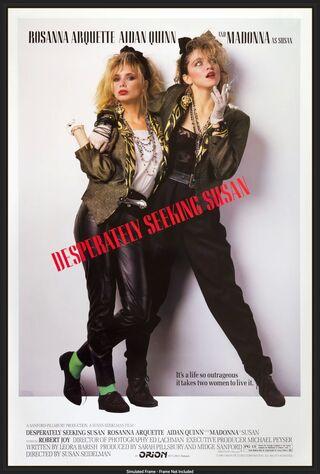 Desperately Seeking Susan (1985) Main Poster