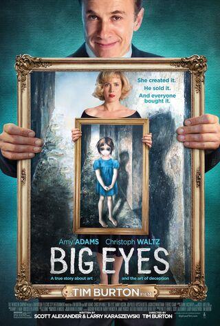 Big Eyes (2014) Main Poster
