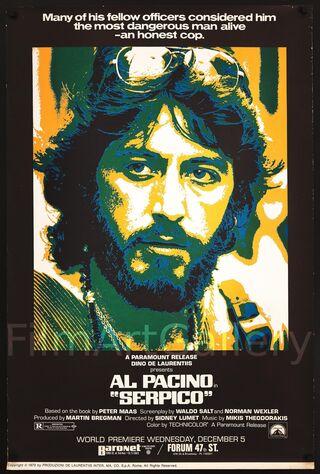Serpico (1973) Main Poster