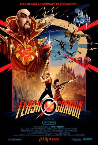 Flash Gordon (1980) Main Poster