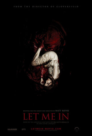 Let Me In (2010) Main Poster