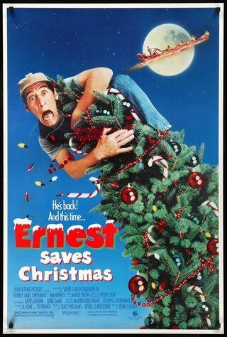 Ernest Saves Christmas (1988) Main Poster