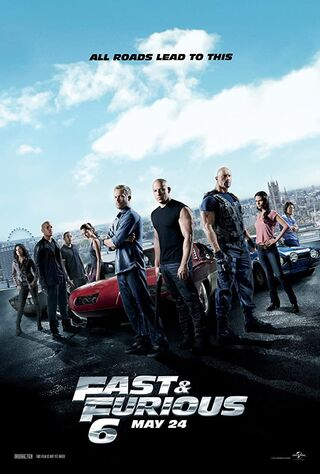 Fast & Furious 6 (2013) Main Poster
