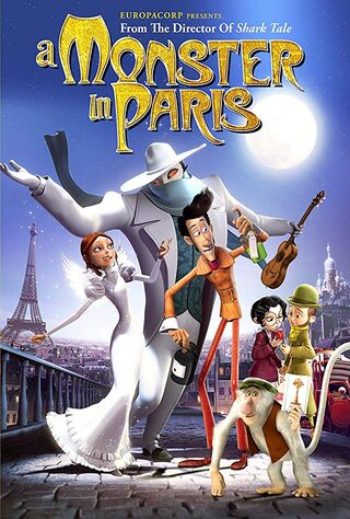 A Monster In Paris (2011) Main Poster