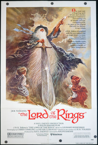 The Lord Of The Rings (1978) Main Poster