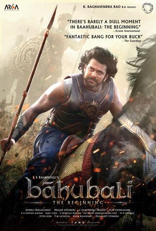 Baahubali: The Beginning (2015) Main Poster