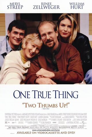 One True Thing (1998) Main Poster