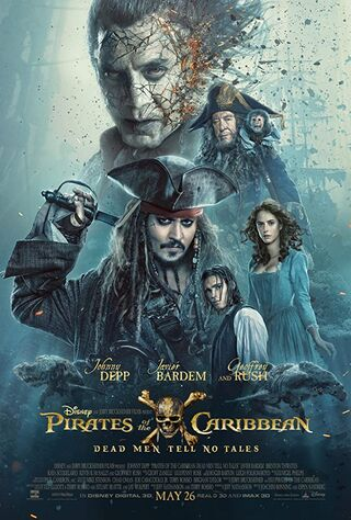 Pirates of the Caribbean: Dead Men Tell No Tales (2017) Main Poster