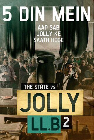 Jolly LLB 2 (2017) Main Poster