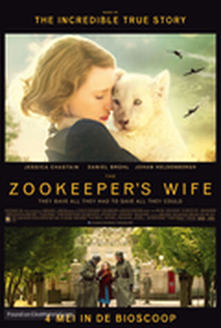 The Zookeeper's Wife (2017) Main Poster