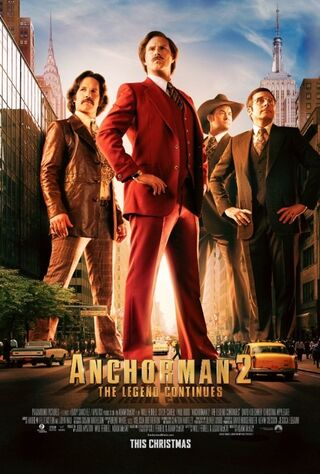 Anchorman 2: The Legend Continues (2013) Main Poster