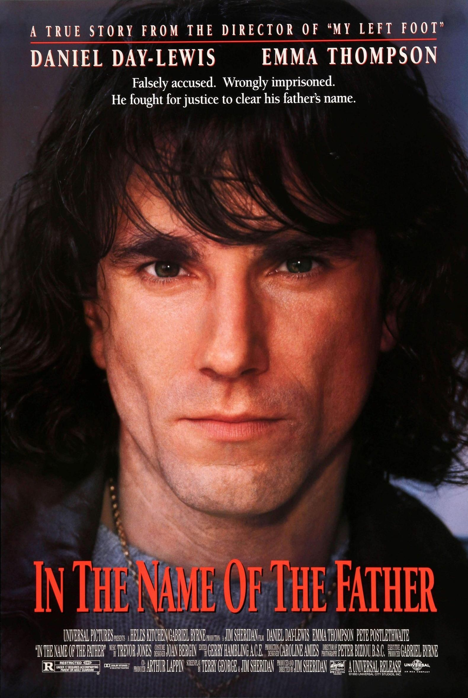 In The Name Of The Father (1994) Main Poster