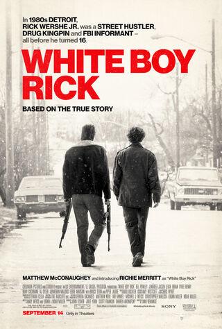 White Boy Rick (2018) Main Poster