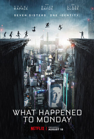 What Happened To Monday (2017) Main Poster