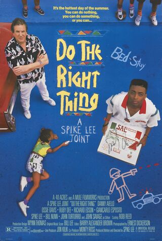 Do The Right Thing (1989) Main Poster