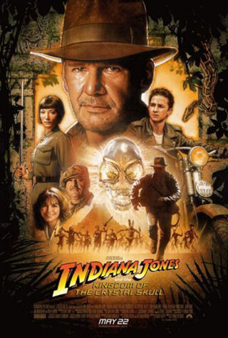 Indiana Jones and the Kingdom of the Crystal Skull (2008) Main Poster