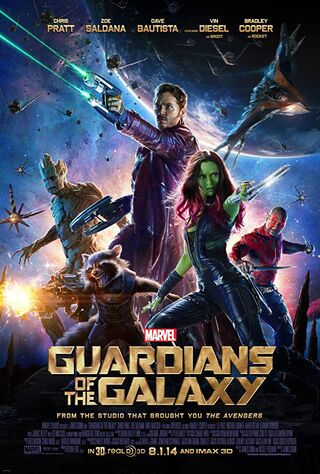 Guardians of the Galaxy (2014) Main Poster