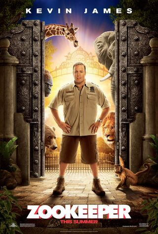 Zookeeper (2011) Main Poster
