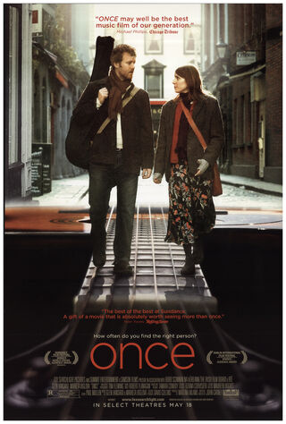 Once (2007) Main Poster