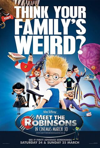 Meet The Robinsons (2007) Main Poster