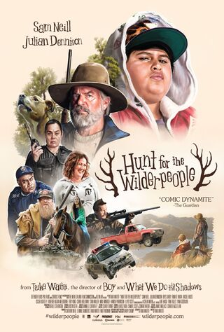 Hunt For The Wilderpeople (2016) Main Poster