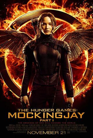 The Hunger Games: Mockingjay - Part 1 (2014) Main Poster
