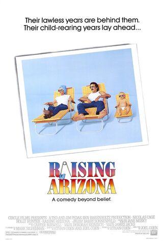 Raising Arizona (1987) Main Poster