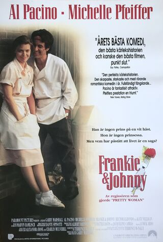 Frankie And Johnny (1991) Main Poster