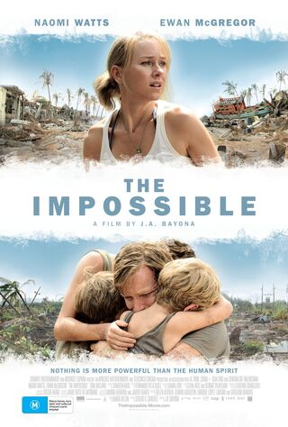 The Impossible (2013) Main Poster