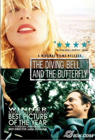 The Diving Bell And The Butterfly (2008) Main Poster