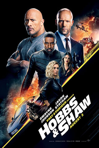 Fast & Furious Presents: Hobbs & Shaw (2019) Main Poster
