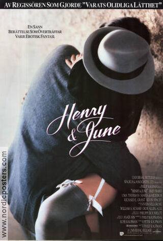 Henry & June (1990) Main Poster