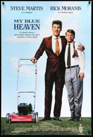 My Blue Heaven (1990) Main Poster