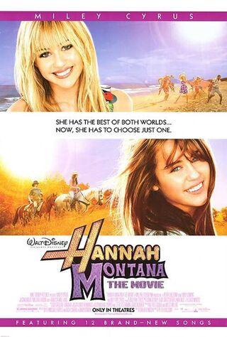 Hannah Montana: The Movie (2009) Main Poster