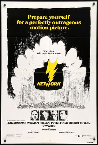 Network (1976) Main Poster
