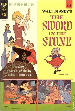 The Sword In The Stone (1964) Main Poster