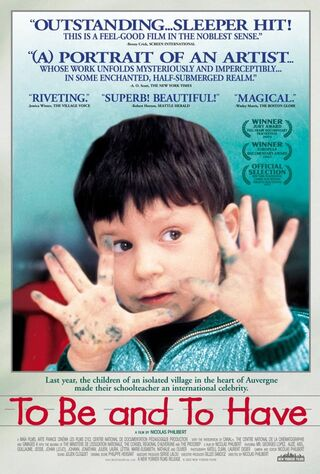 To Be And To Have (2002) Main Poster