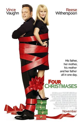 Four Christmases (2008) Main Poster