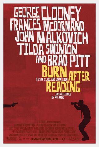 Burn After Reading (2008) Main Poster