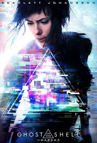 Ghost In The Shell (2017) Main Poster