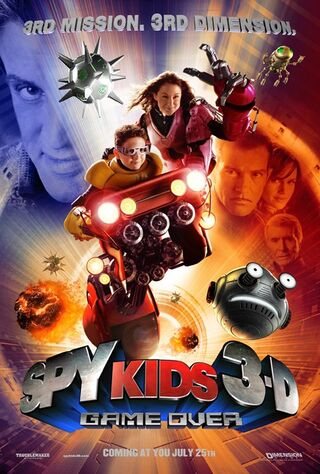 Spy Kids 3-D: Game Over (2003) Main Poster
