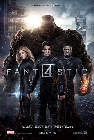 Fantastic Four (2015) Main Poster