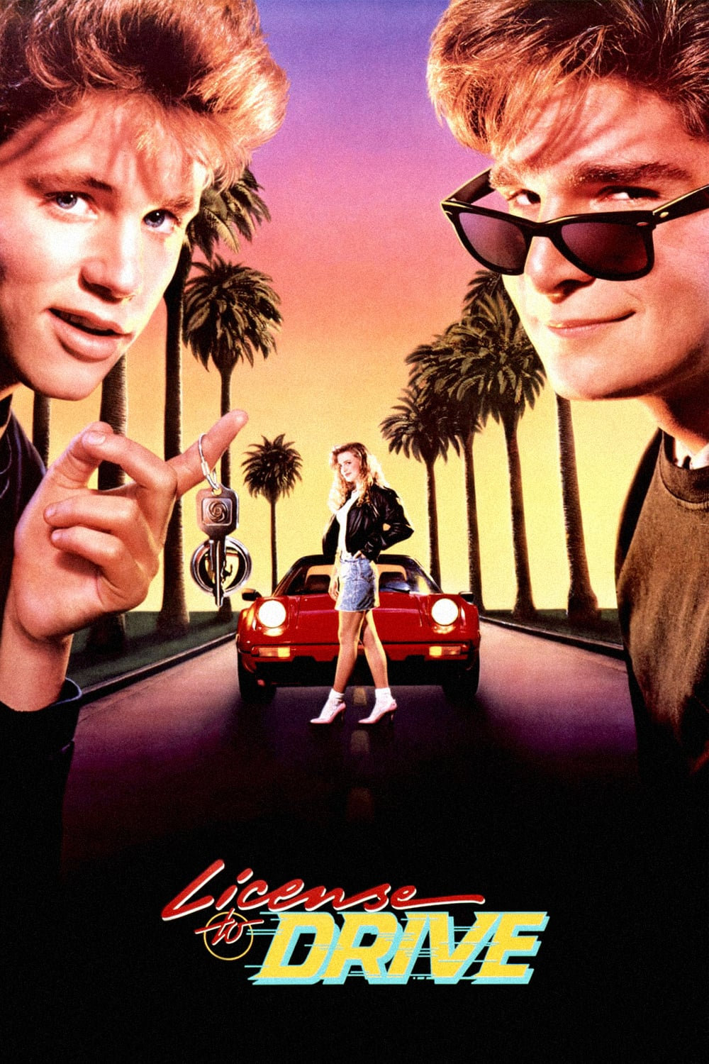 License To Drive (1988) Main Poster