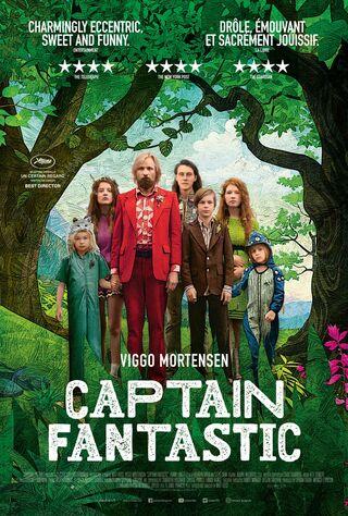 Captain Fantastic (2016) Main Poster